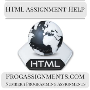 HTML Assignment Help