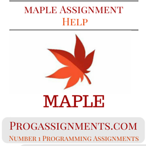 MAPLE Assignment Help